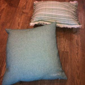 Calvin Klein Other - Throw pillows